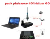 Iridium Pack plaisance GO/4G
